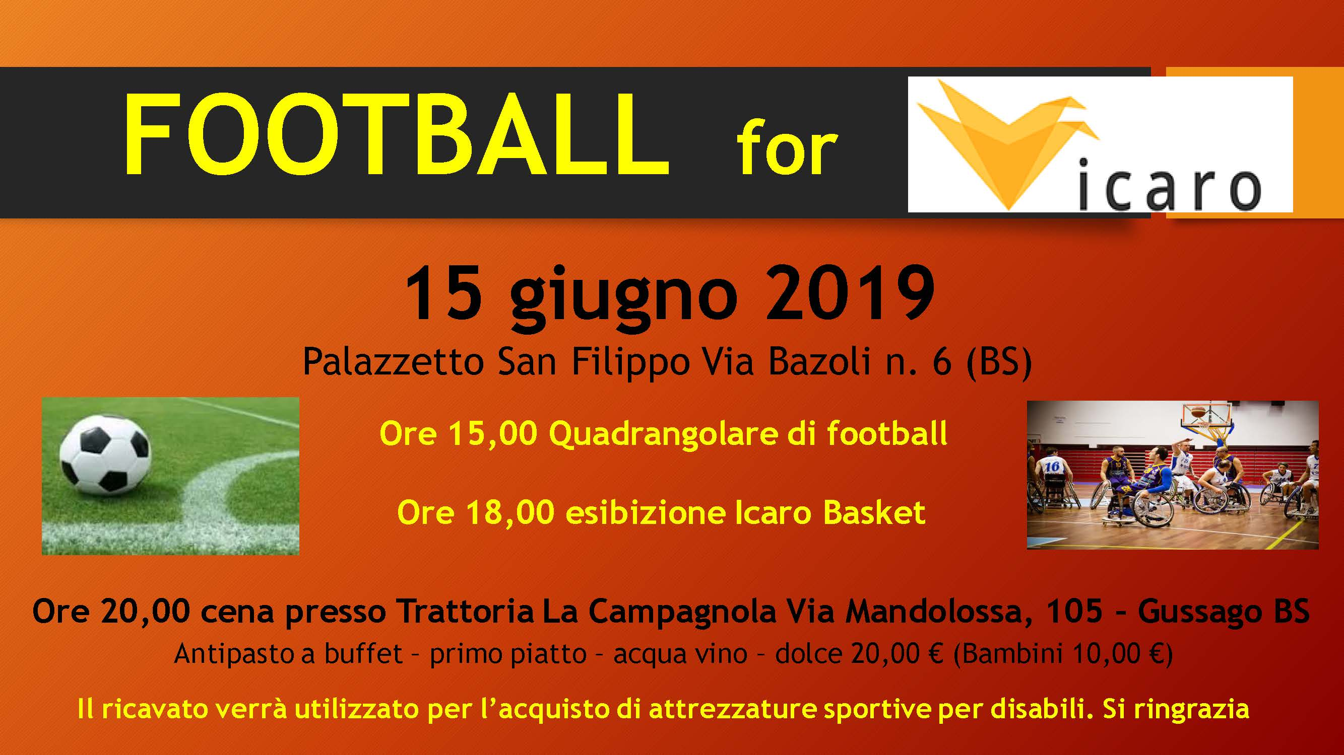 Ordine Architetti Brescia Lavoro squadra di calcio - prossimi appuntamenti